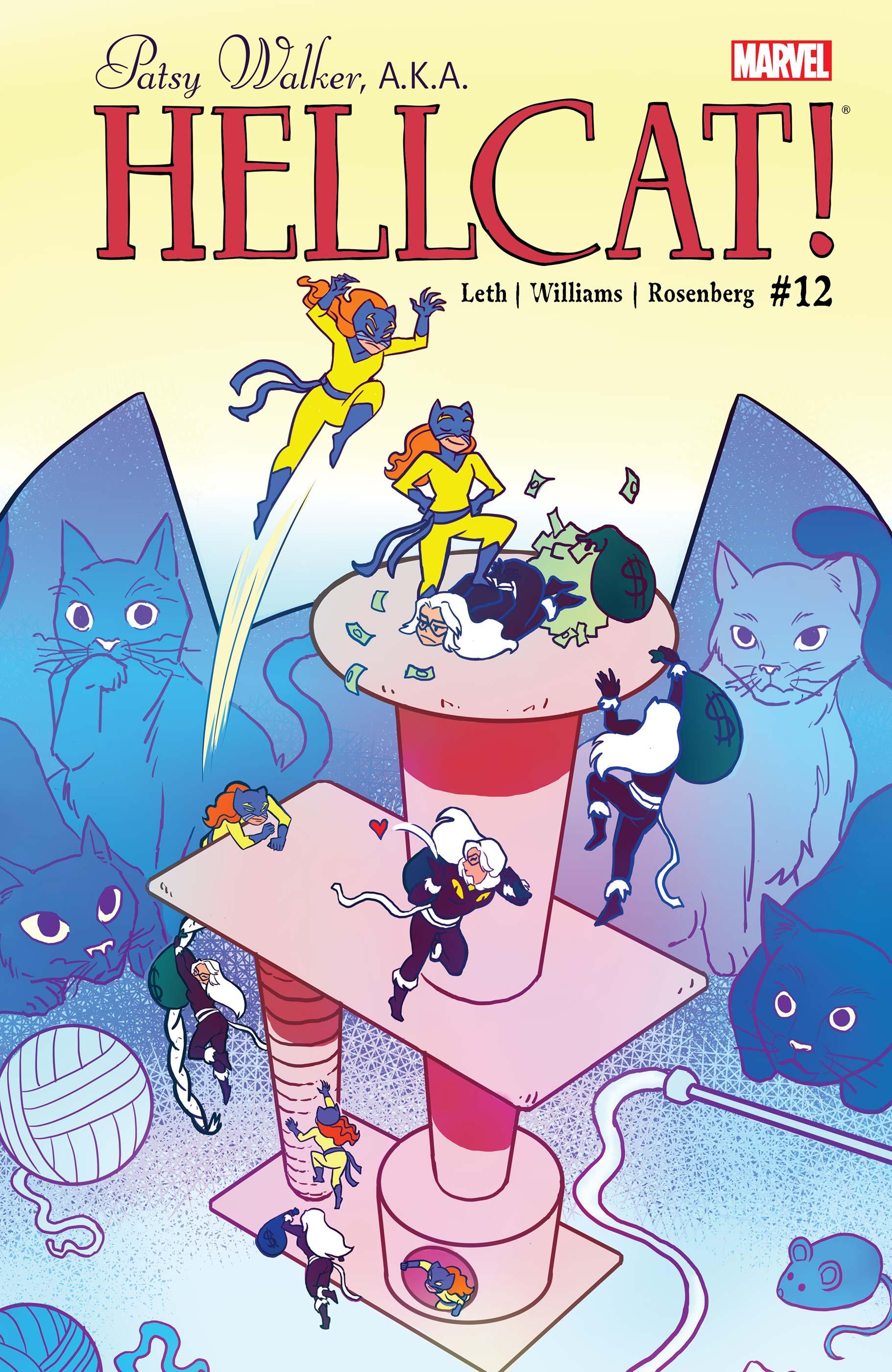 Patsy Walker, A.K.A. Hellcat! (2015) #12
