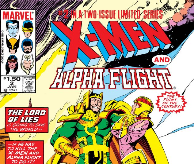 X-Men/Alpha Flight (1985) #2