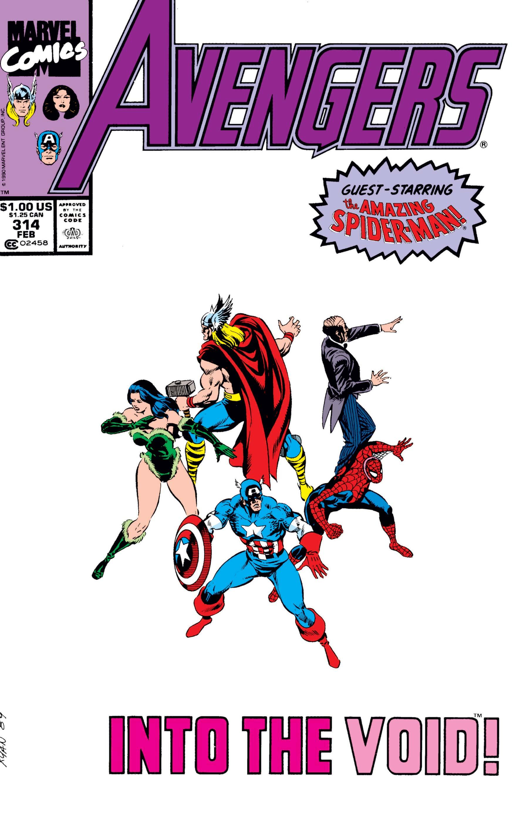Avengers (1963) #314