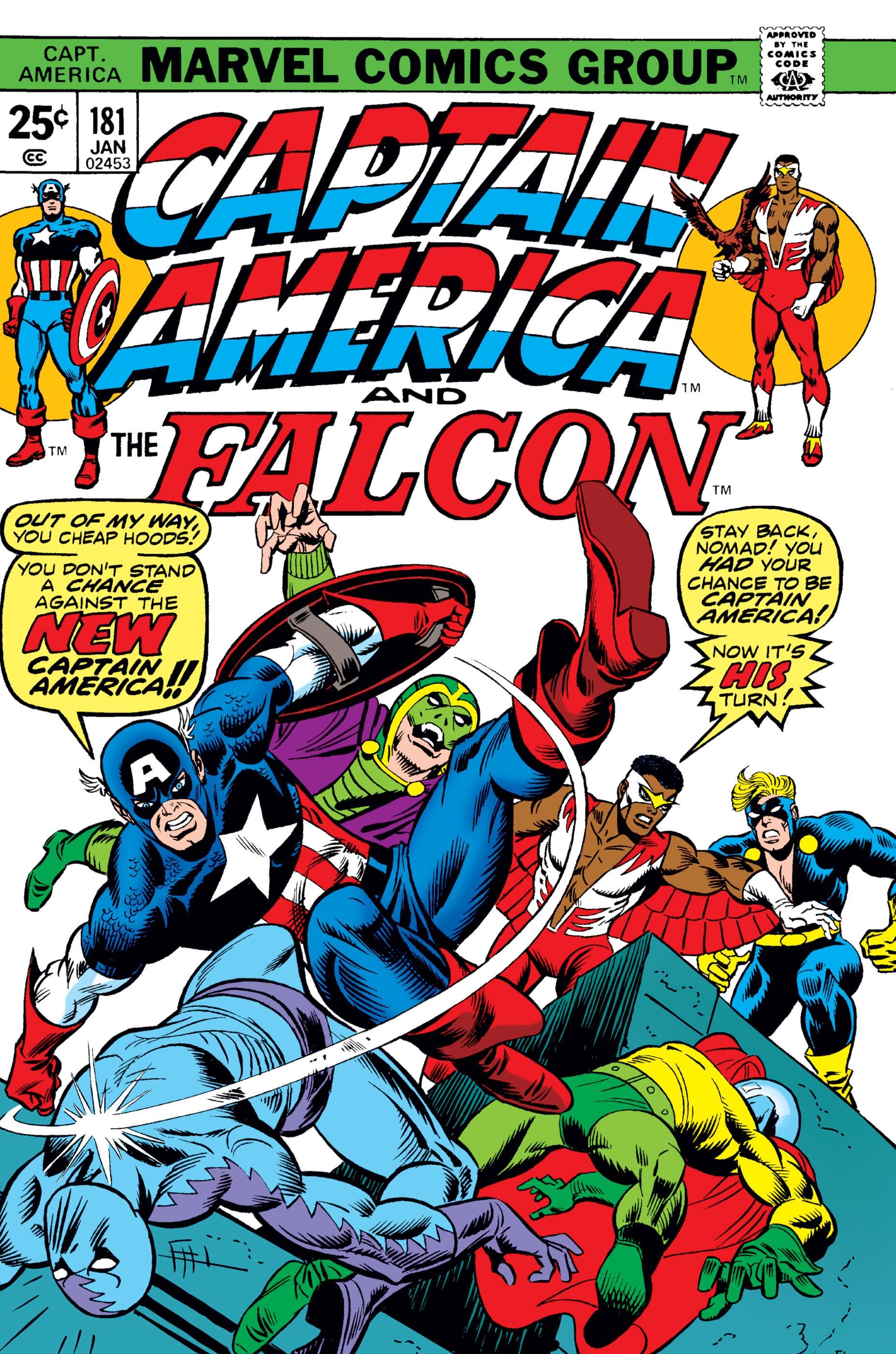 Captain America (1968) #181