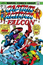 Captain America (1968) #181 cover