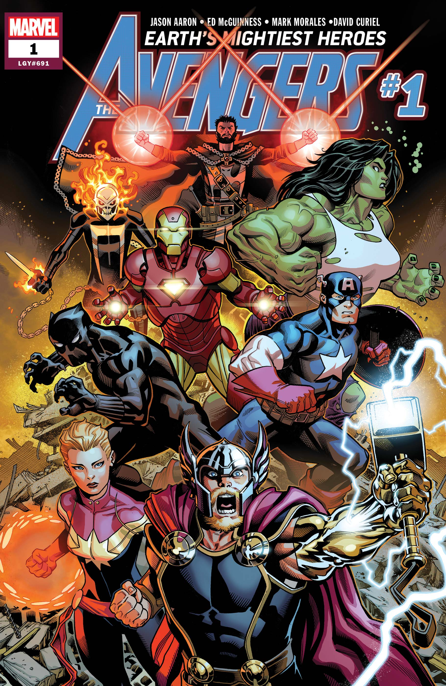 Image result for aaron mcguinness avengers