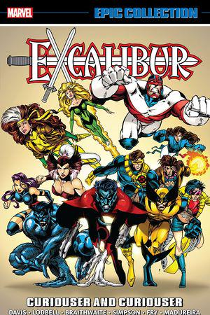 Excalibur Epic Collection: Curiouser and Curiouser (Trade Paperback)