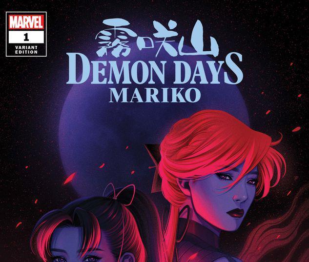 DEMON DAYS: MARIKO 1 BARTEL VARIANT #1