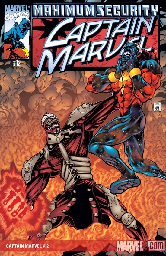 Captain Marvel (2000) #12