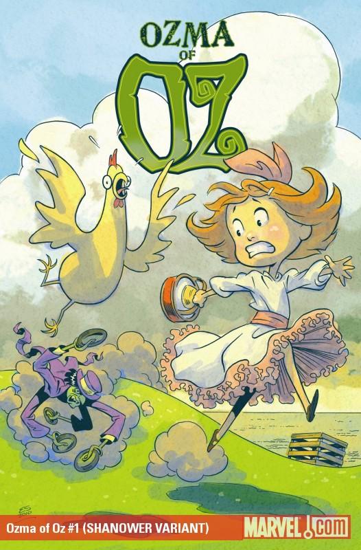 Ozma of Oz (2010) #1 (SHANOWER VARIANT)