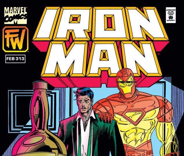 Iron Man (1968) #313 Cover