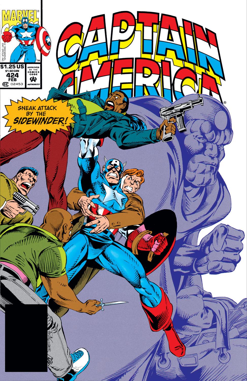 Captain America (1968) #424