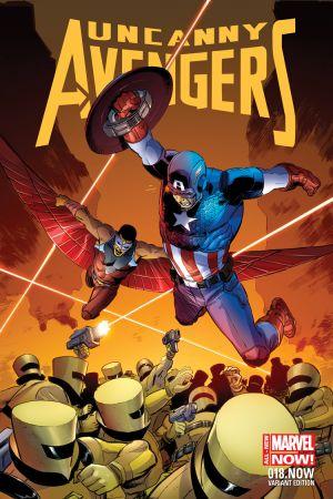 Uncanny Avengers (2012) #18 (Weeks Captain America Team-Up Variant)