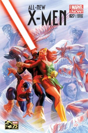 All-New X-Men (2012) #27 (Ross 75th Anniversary Variant)