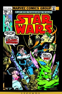Star wars comic books 1977