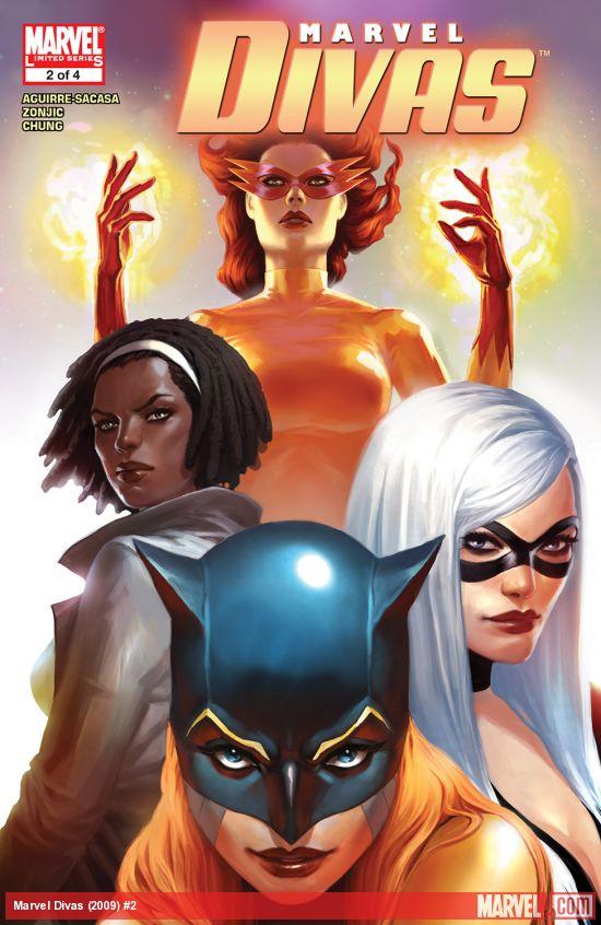 Marvel Divas (2009) #2