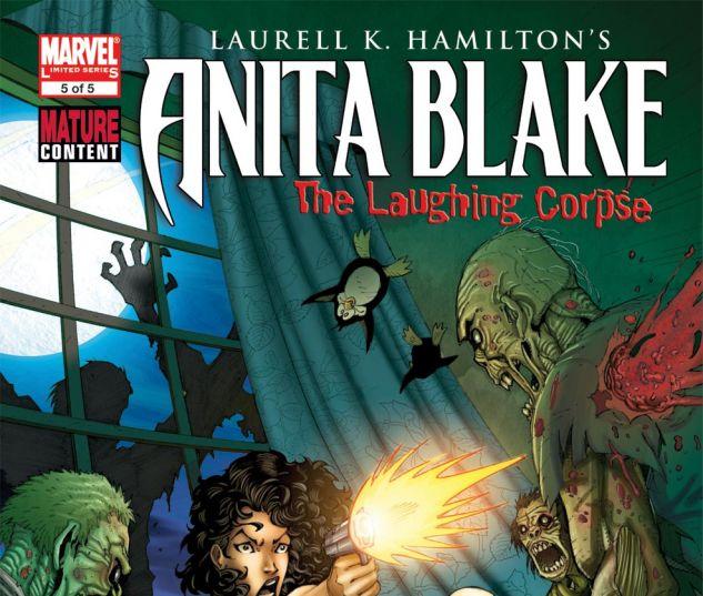 ANITA BLAKE, VAMPIRE HUNTER: THE LAUGHING CORPSE (2008) #5 Cover