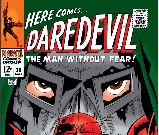 DAREDEVIL (1964) #38 Cover