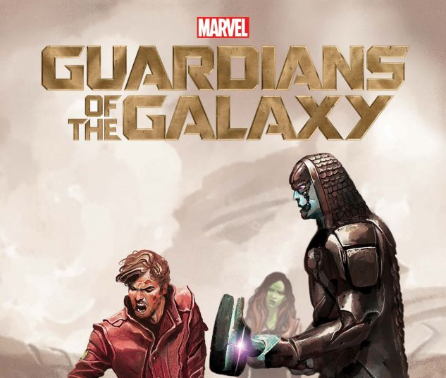 cover from Marvel Cinematic Universe Handbook: GOTG