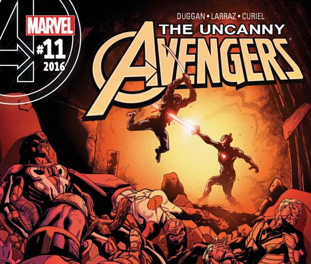 cover from Uncanny Avengers (2015) #11