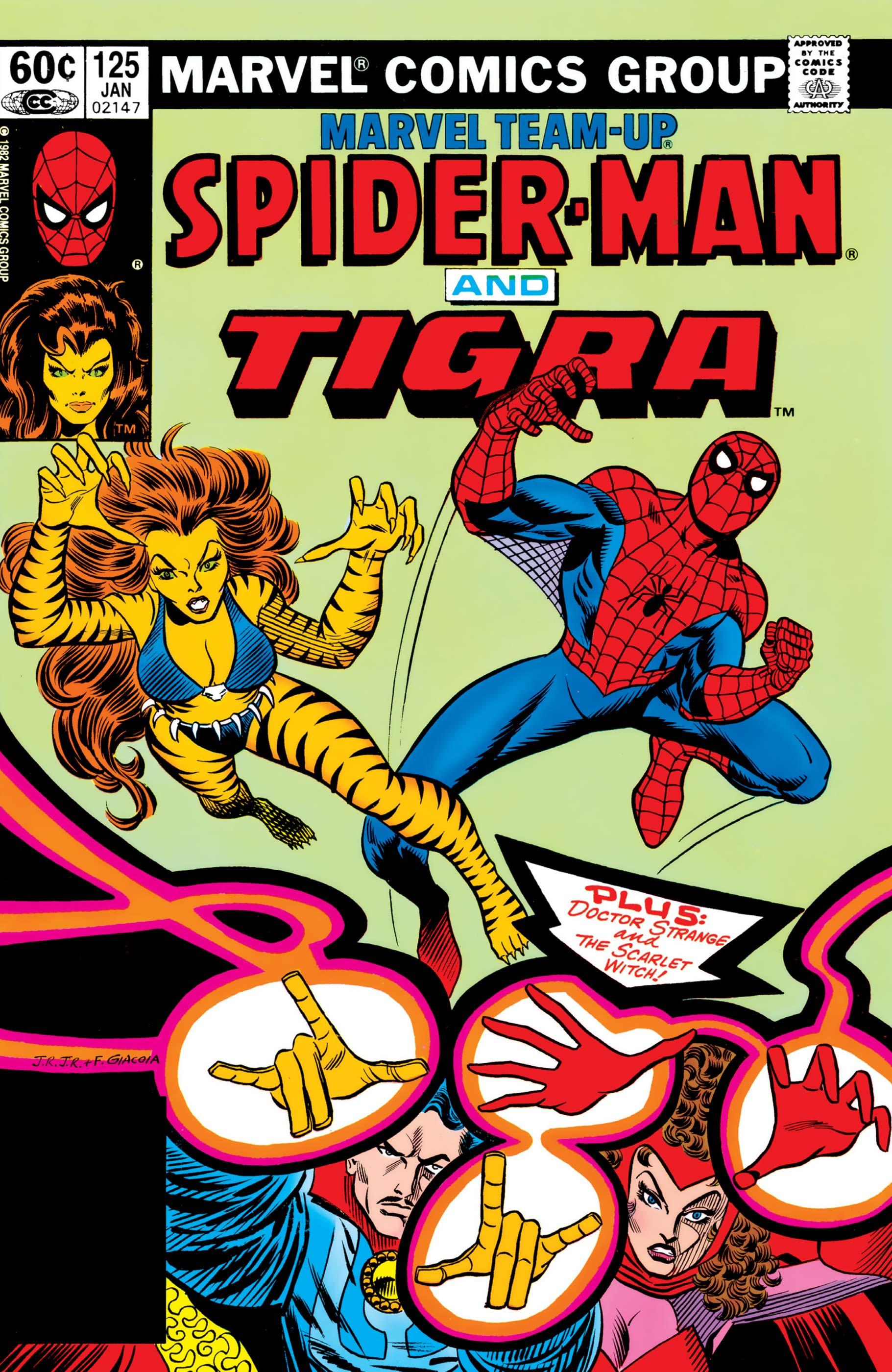 Marvel Team-Up (1972) #125