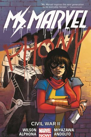Ms. Marvel Vol. 6: Civil War II (Trade Paperback)