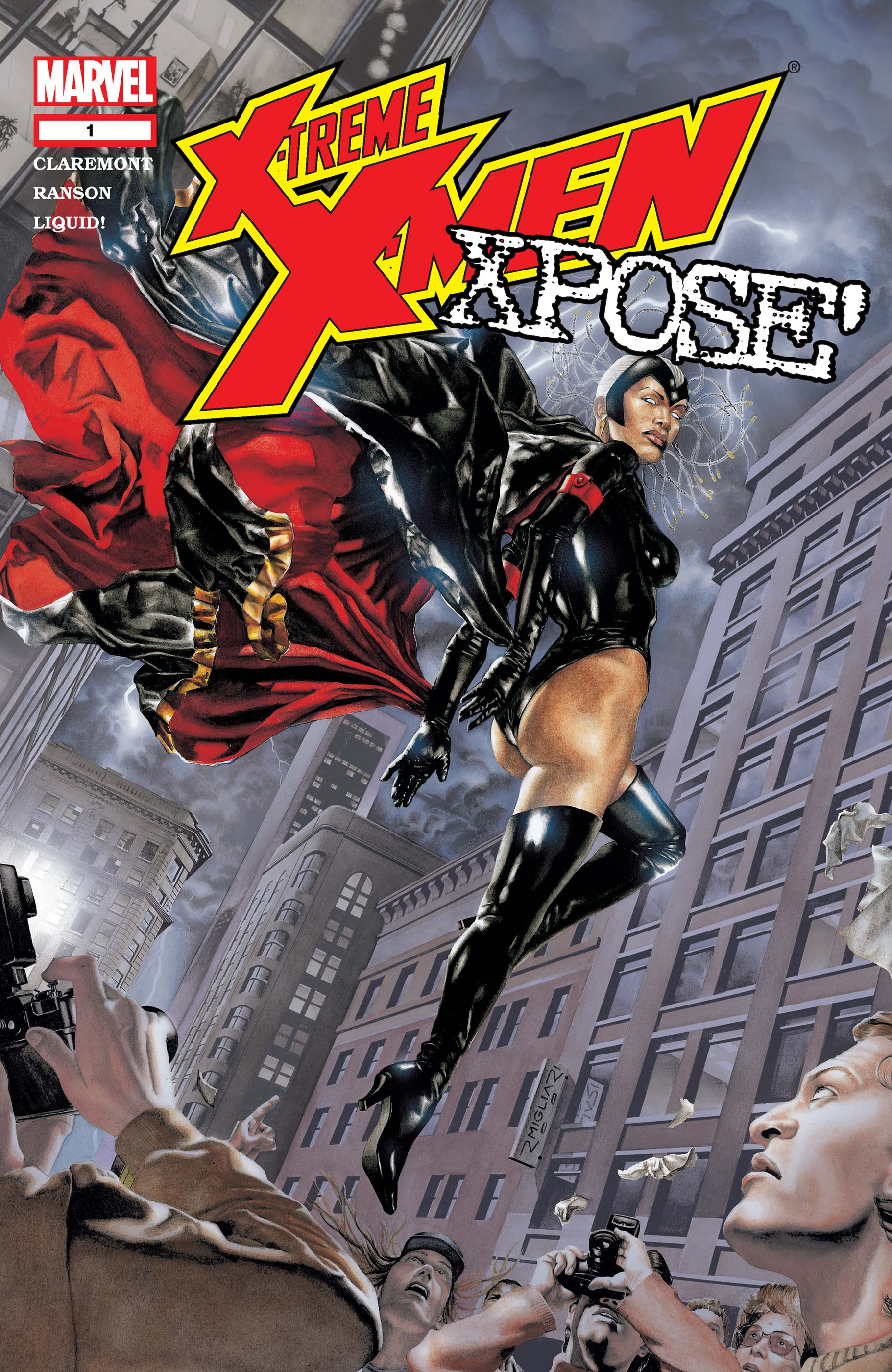 X-Treme X-Men: X-Pose (2003) #1