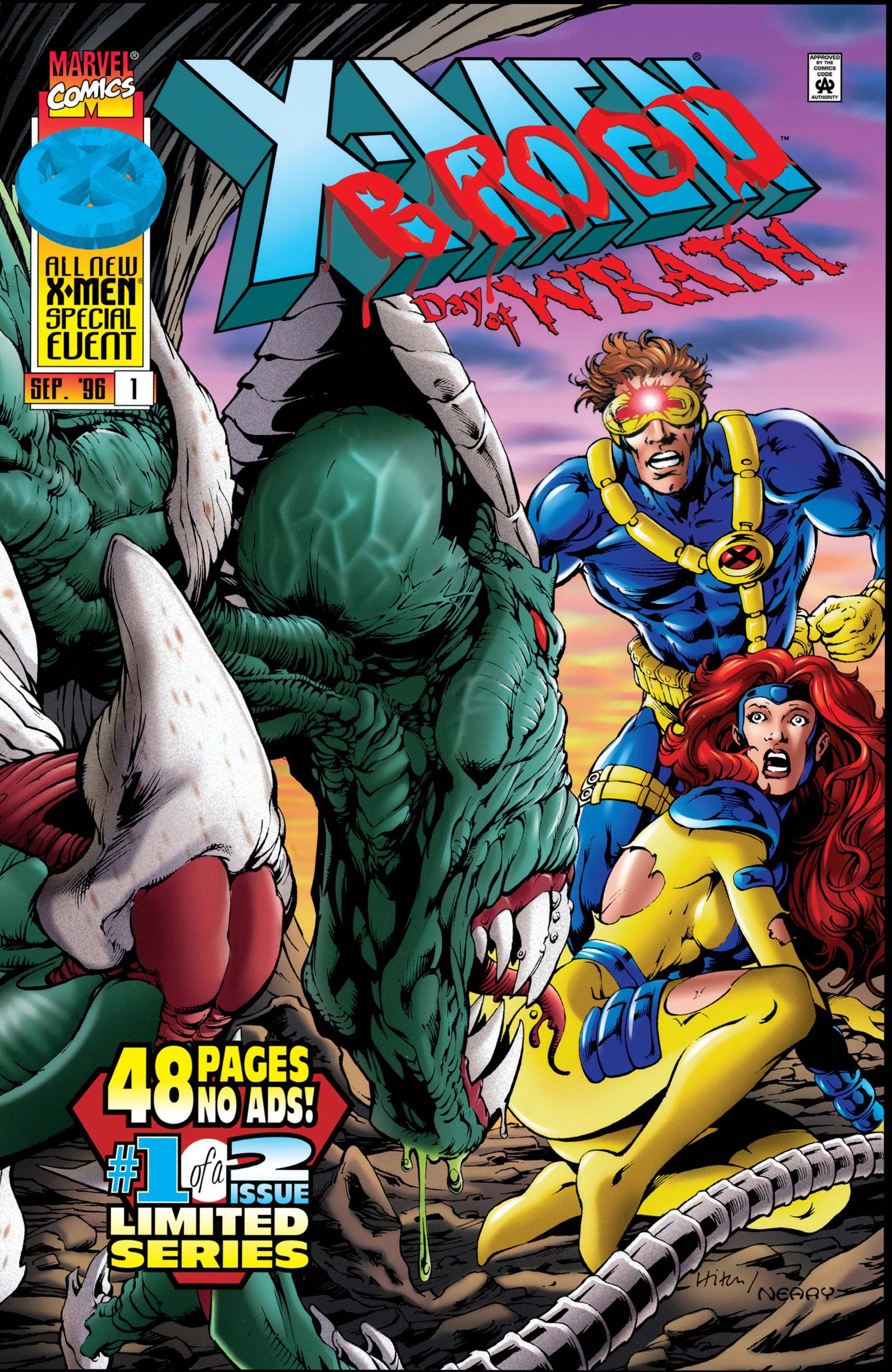 X-Men Vs. Brood (1996) #1
