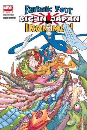 Fantastic Four/Iron Man: Big in Japan  #1