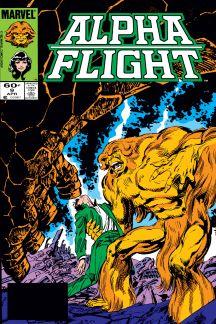 Alpha Flight (1983) #9