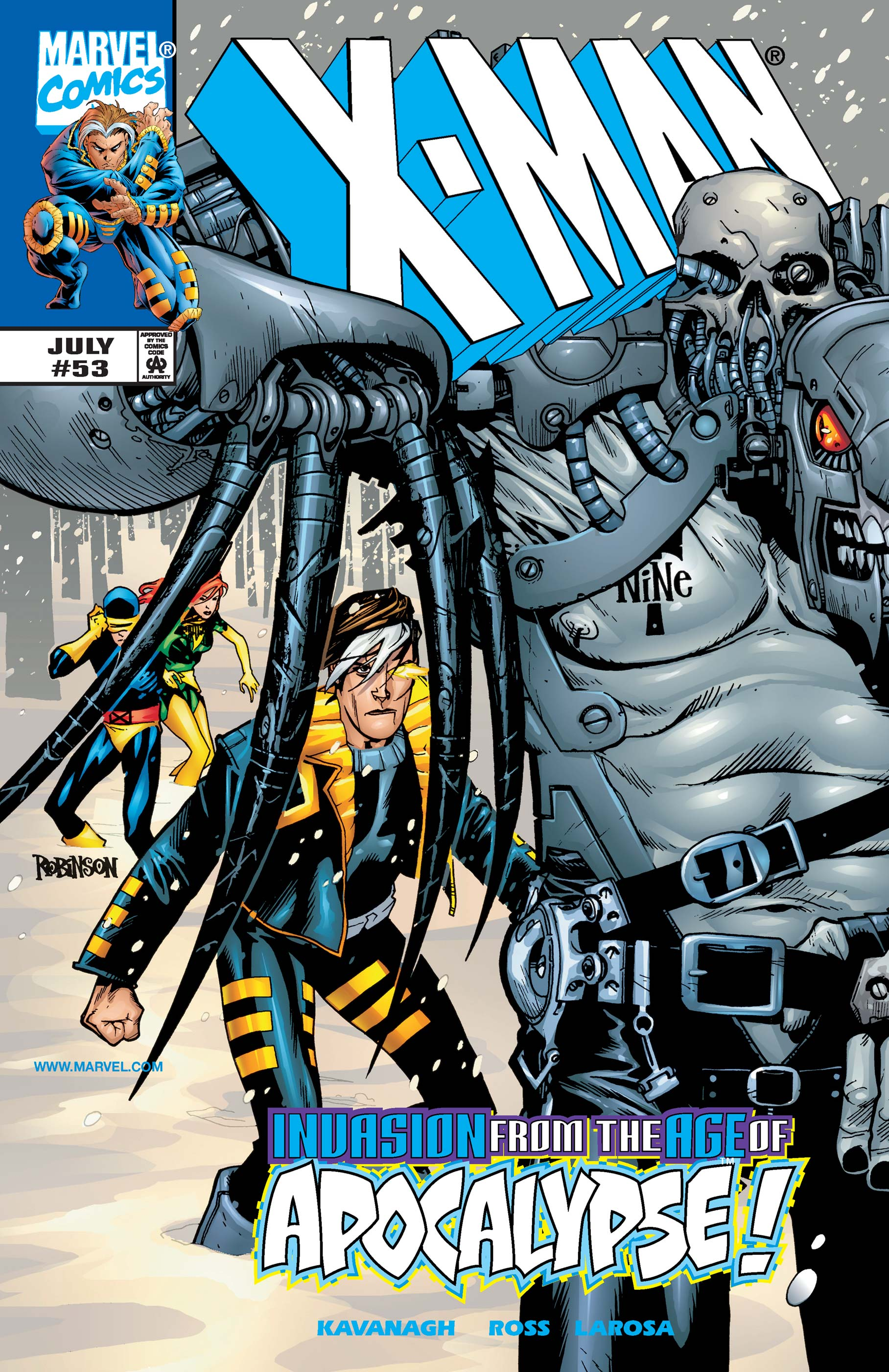 X-Man (1995) #53