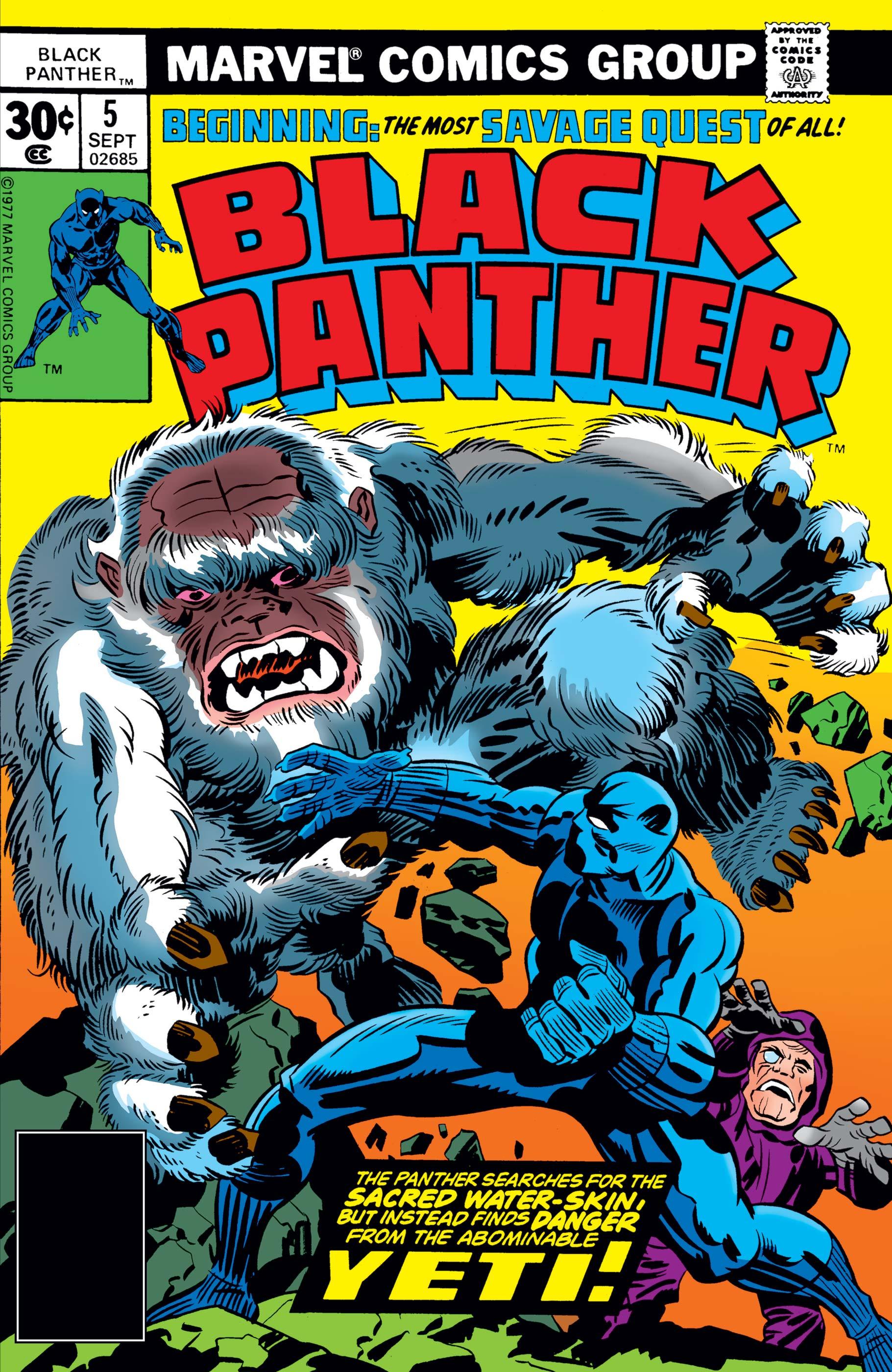 Black Panther (1977) #5