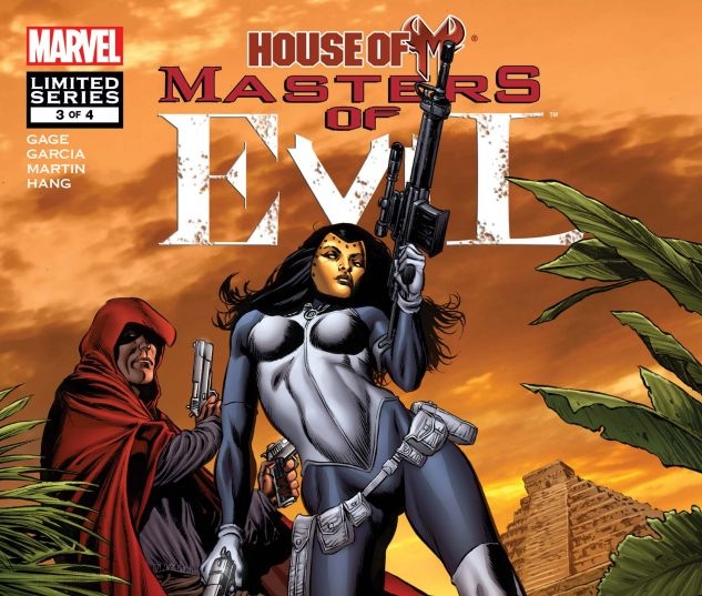 HOUSE OF M: MASTERS OF EVIL (2009) #3