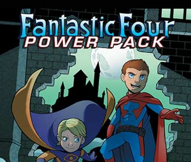 cover from Fantastic Four and Power Pack Infinite Comic (2018) #3