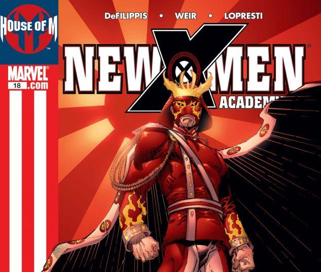 NEW X-MEN (2004) #18