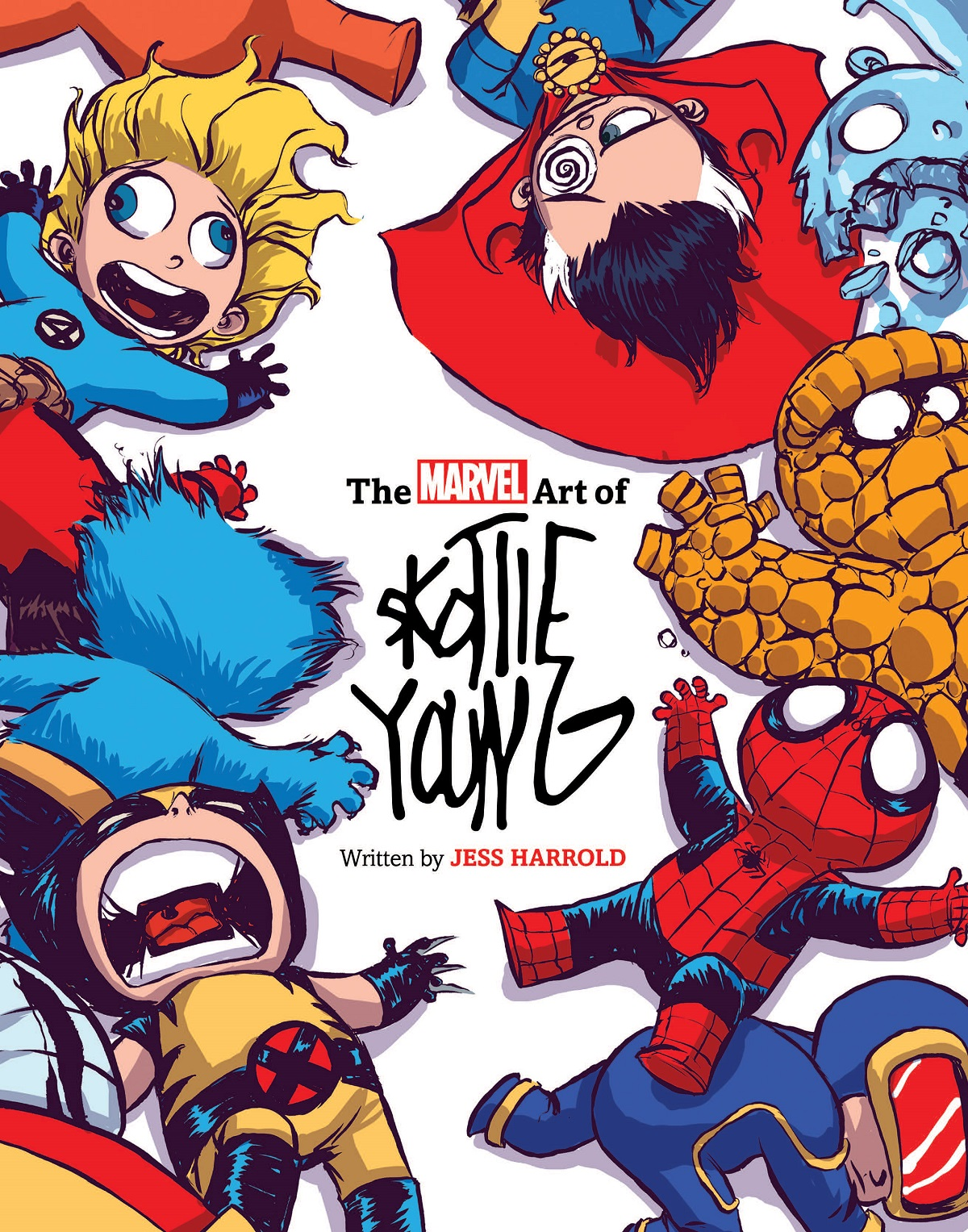 The Marvel Art Of Skottie Young (Hardcover)