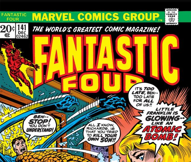 Fantastic Four (1961) #141 Cover