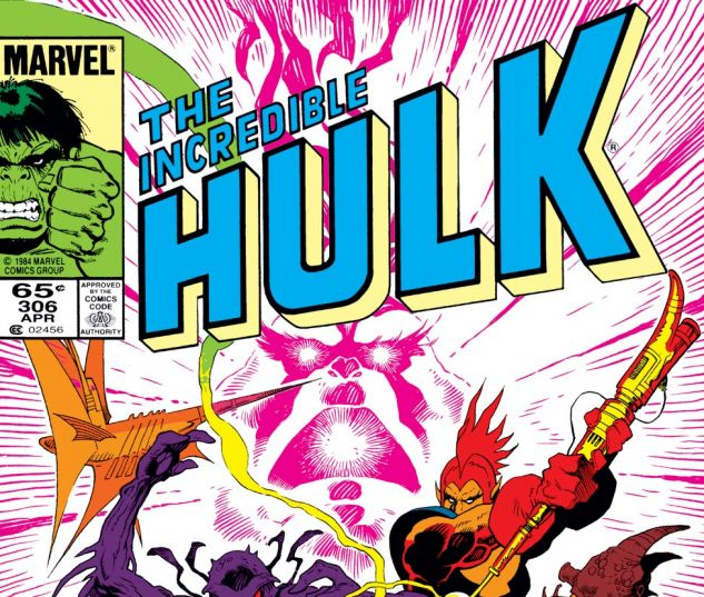 Incredible Hulk (1962) #306 Cover