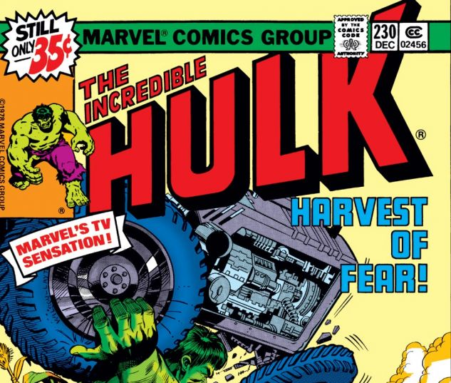 Incredible Hulk (1962) #230 Cover