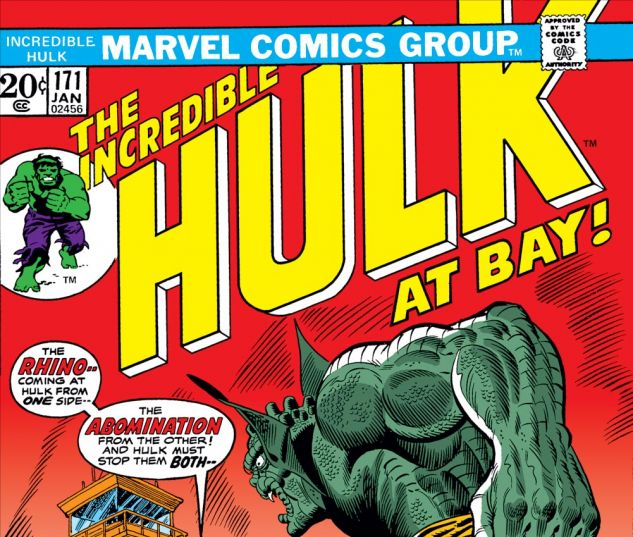 Incredible Hulk (1962) #171 Cover
