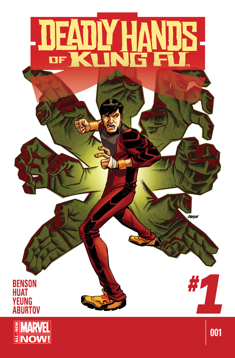 Deadly Hands of Kung Fu (2014) #1