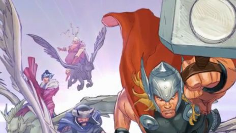 Marvel AR: Thor: God of Thunder #18 Cover Recap