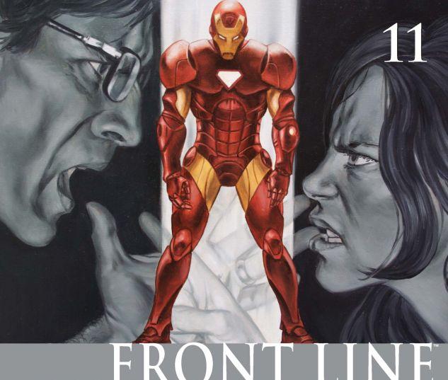 CIVIL WAR: FRONT LINE (2006) #11 Cover