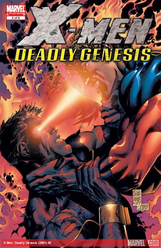 X-Men: Deadly Genesis (2005) #2