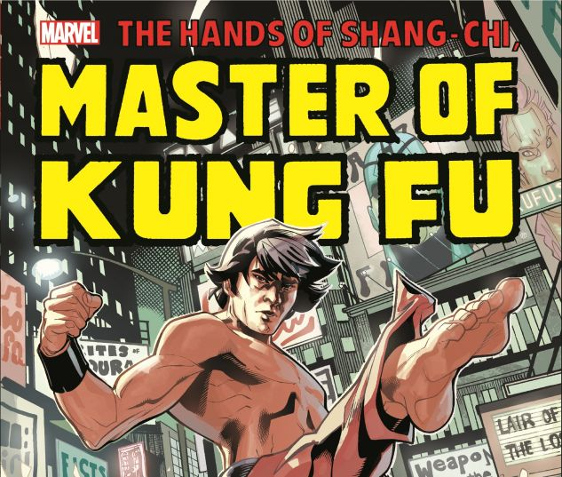 Shang-Chi: Master of Kung Fu (2016) (COIPEL COVER)