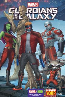 Marvel Universe Guardians of the Galaxy (2015) #12