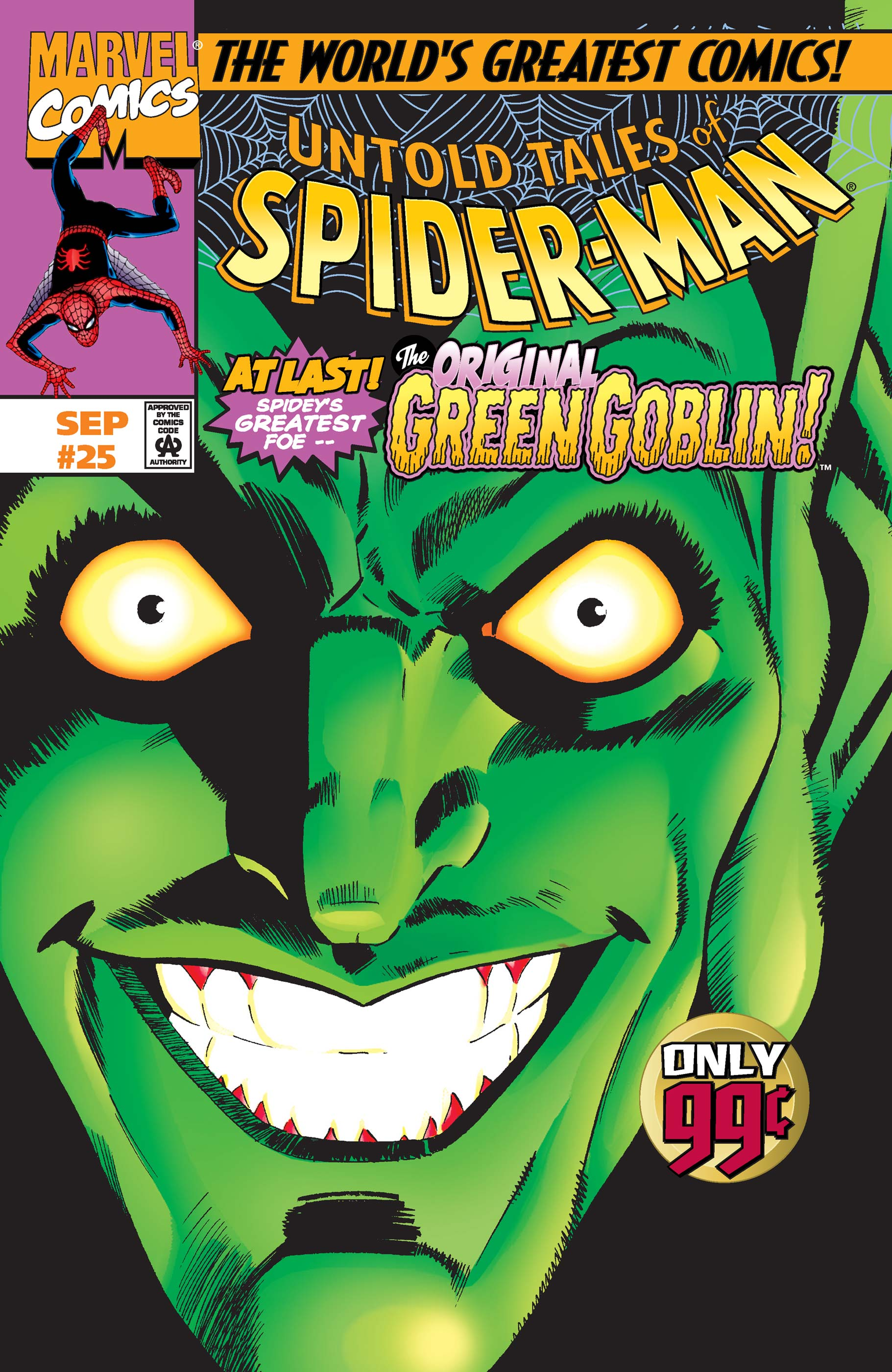 Untold Tales of Spider-Man (1995) #25