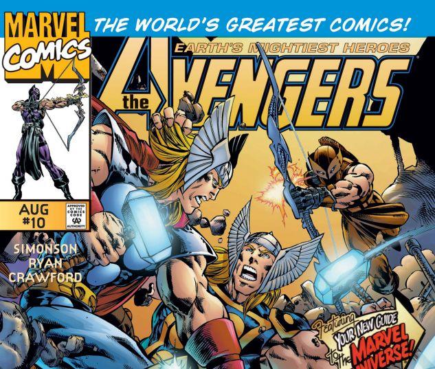 Avengers (1996) #10