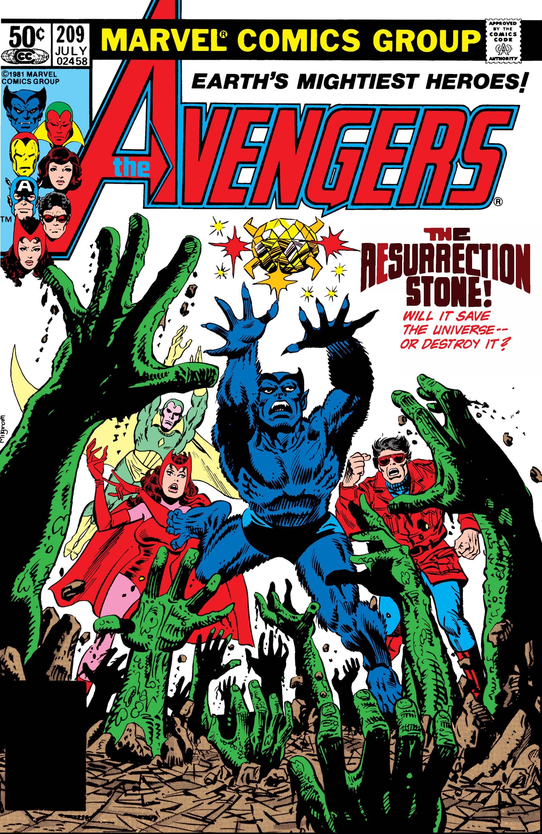 Avengers (1963) #209