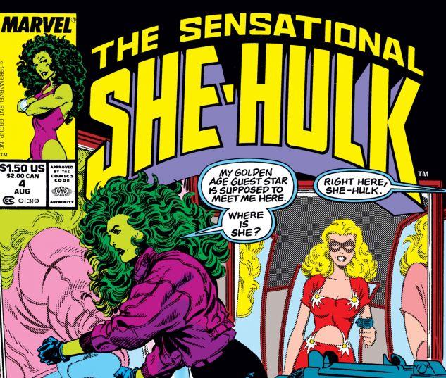 Cover for SENSATIONAL SHE-HULK #4