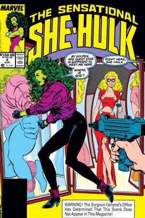 Sensational She-Hulk (1989) #4