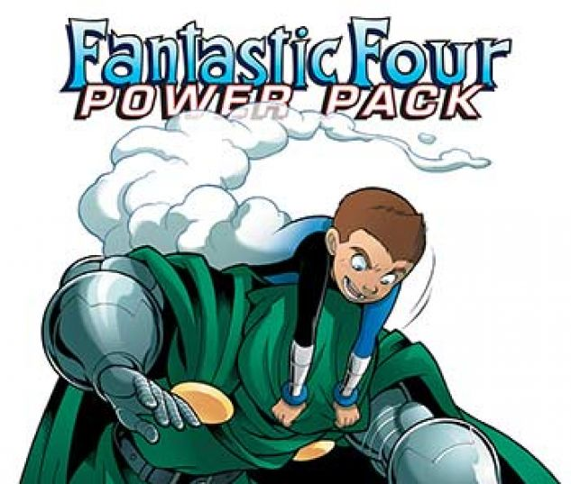cover from Fantastic Four and Power Pack Infinite Comic (2018) #5