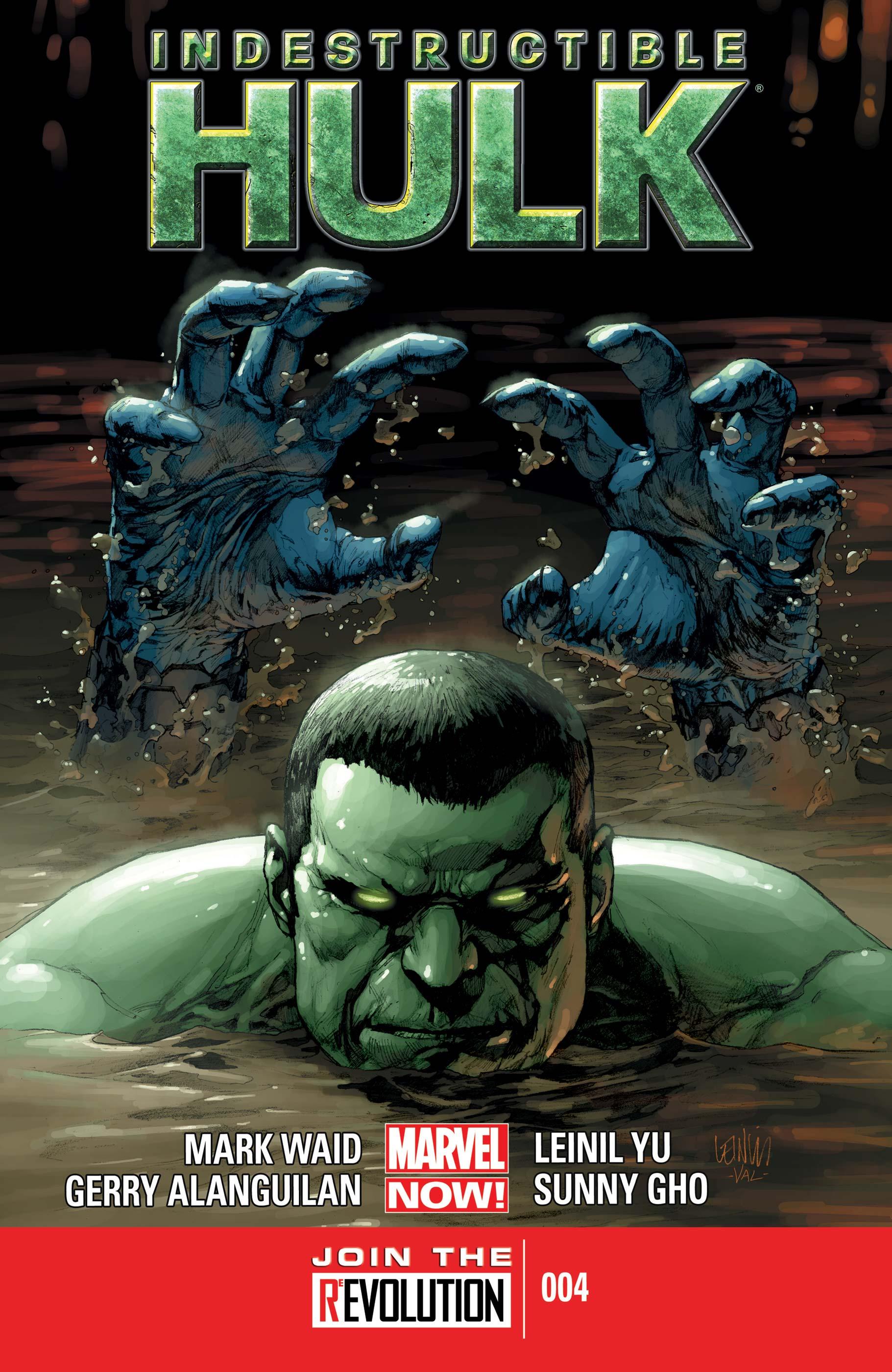 Indestructible Hulk (2012) #4
