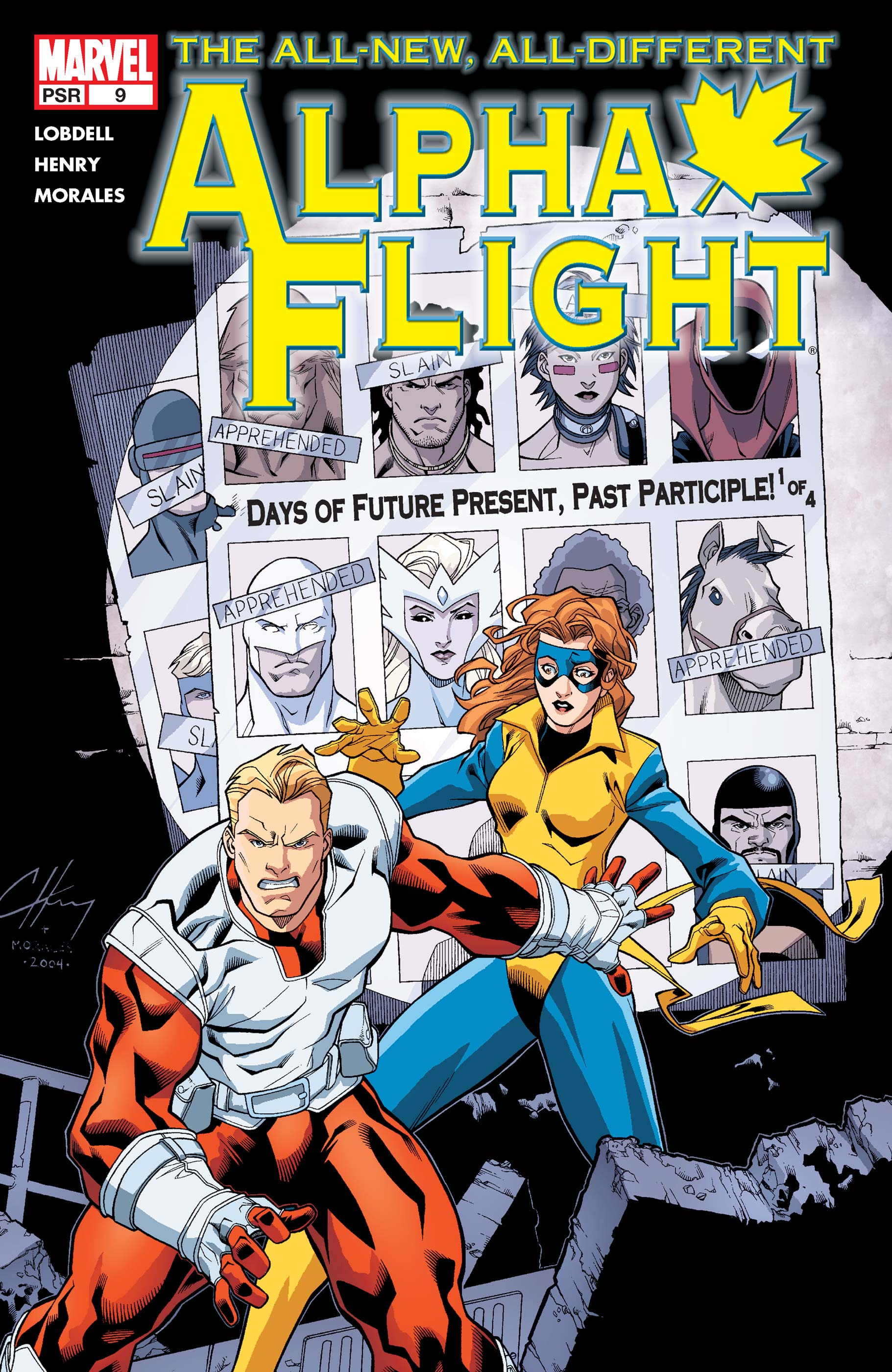 Alpha Flight (2004) #9